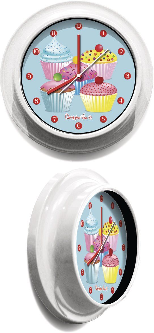 Christopher Vine Design Party Cakes Wall Clocks