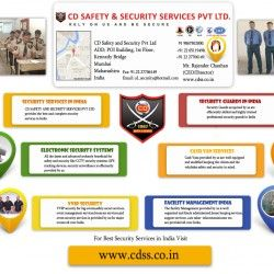 Security Services in India - CDSS Pvt. Ltd (CD Safety & Security Services)  is the most efficient security services in India offering complete securit
