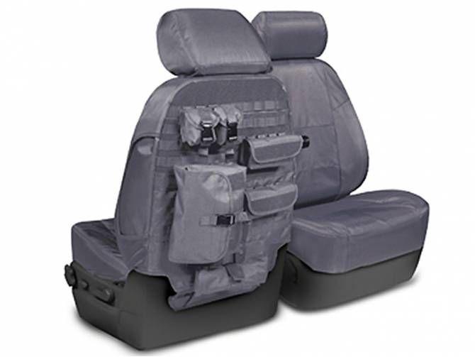 Skanda Tactical Seat Covers Charcoal