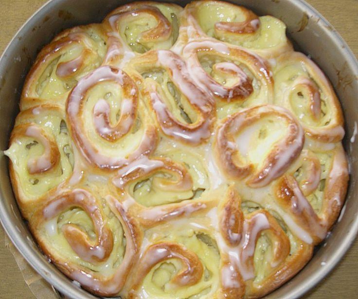 Puddingschnecken - Kuchen