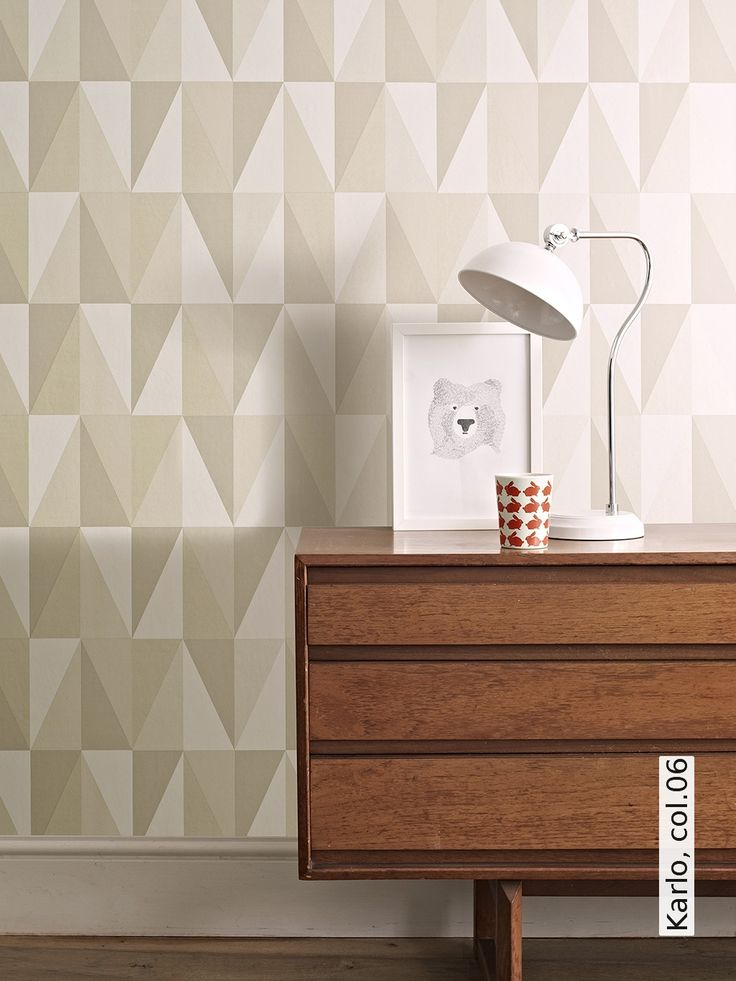 11 best Wallpaper Midcentury Modern images on Pinterest Art work - tapete modern