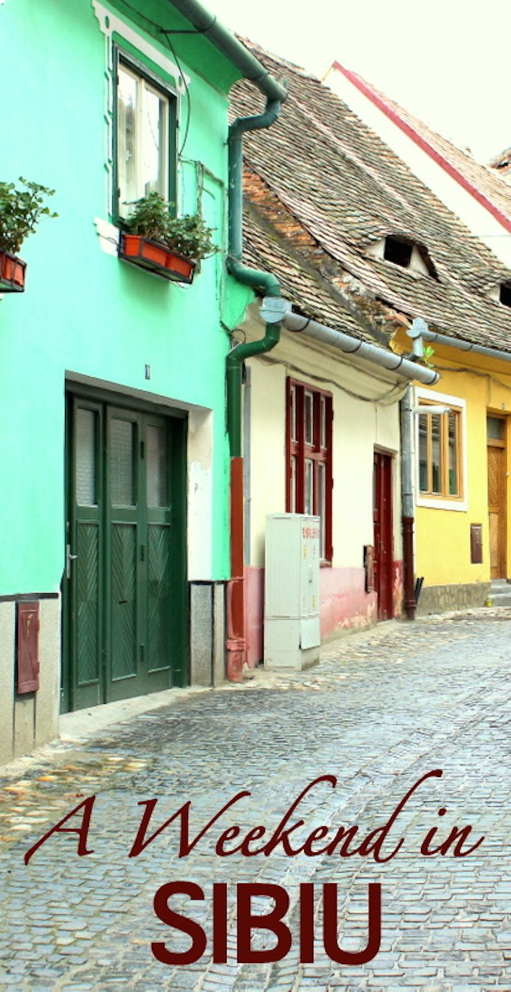 This beautiful town in Romania is a true hidden gem. Read about the things you can do on a Weekend in Sibiu http://globalhelpswap.com/sibiu-2/ #sibiu #romania