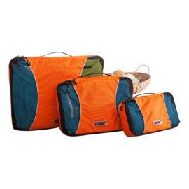 Backpack efficient inpakken met deze handige bagage organizers. Alle kleding kreukvrij mee.