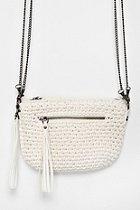 Kimchi Blue Crochet Exposed-Zip Crossbody Bag: Crossbodi Bags, Đan Móc, Túi Xách, Blue Crochet, Exposed Zip Crossbodi, Crochet Exposed Zip, Móc Túi, Kimchi Blue
