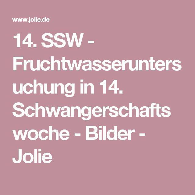 14. SSW - Fruchtwasseruntersuchung in 14. Schwangerschaftswoche - Bilder - Jolie