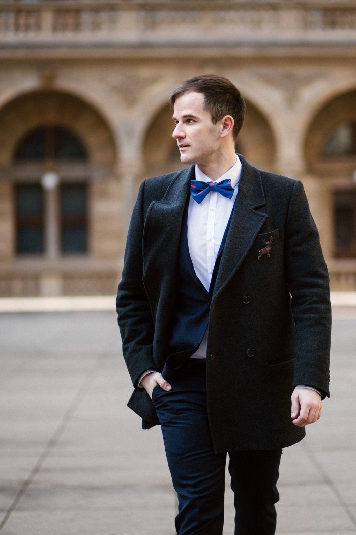 gentleman, street style, men style, men inspiration, Prague, bow tie, topman, preppy, dandy