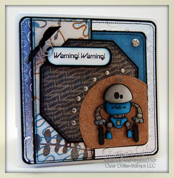 CDS Sneak Peek - Bitty Bots by blondie090277 - Cards and Paper Crafts at Splitcoaststampers