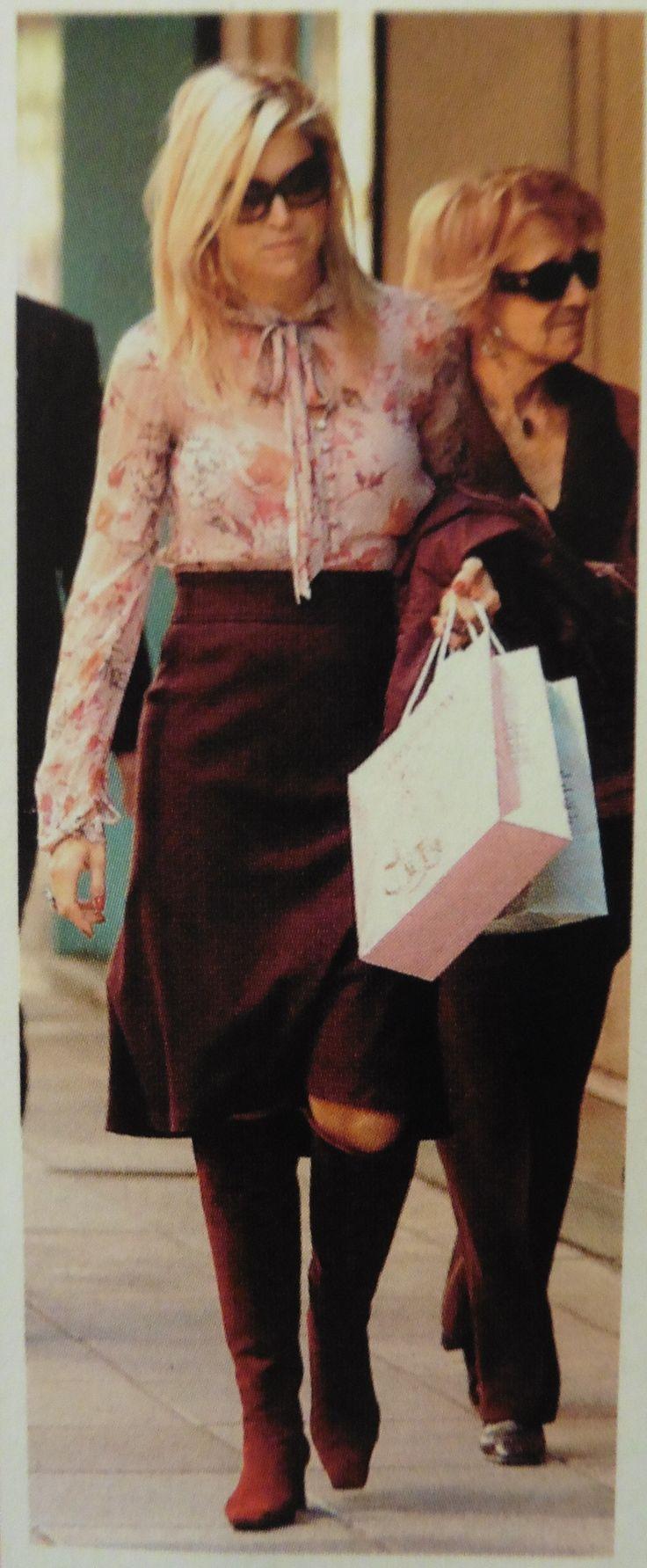 Maxima winkelt in 2007 met haar moeder in Buenos Aires.