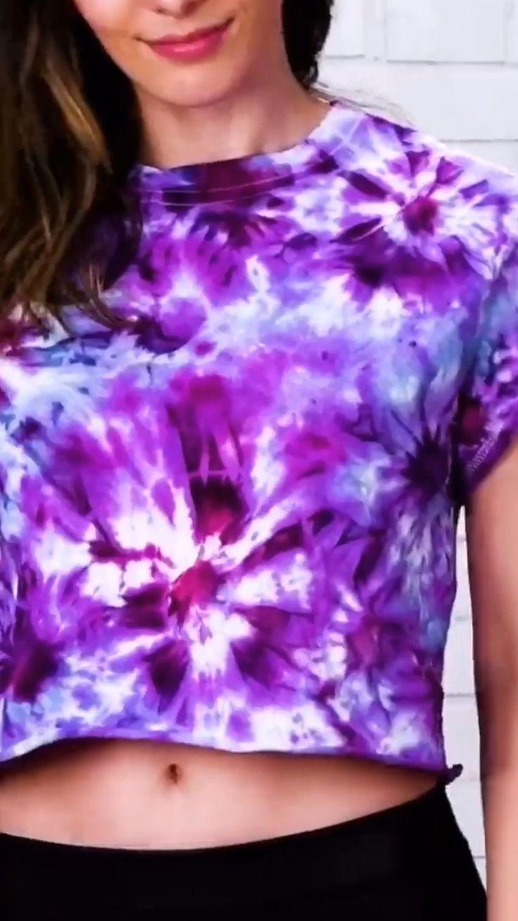 Ideas to Tie-dye shirts