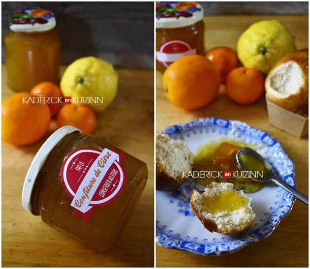 Recette confiture de pastèque et agrumes bio #confiture #citre #pasteque #agrume #citron #orange #clementine