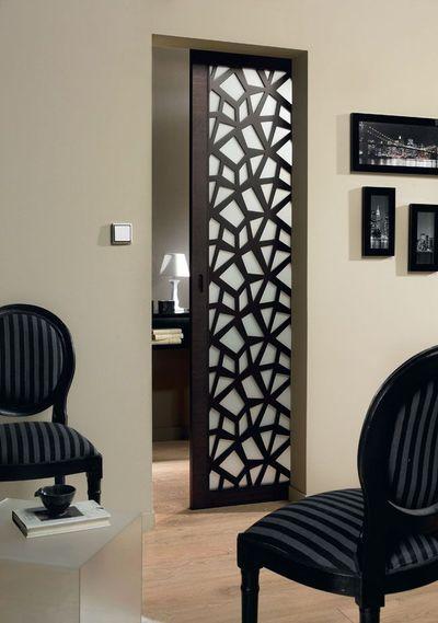 Porte à galandage : 9 photos de portes coulissantes belles et pratiques - Côté Maison