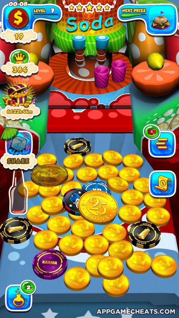 coin pusher machine hack