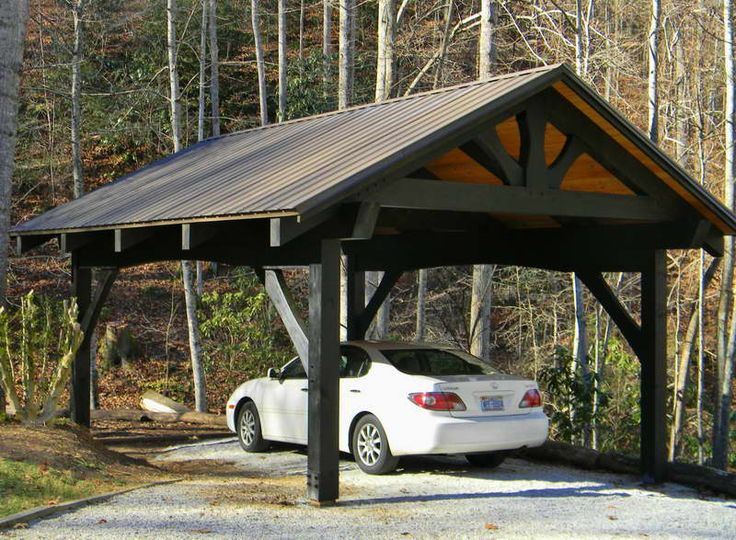 wood carports photos - photo #12