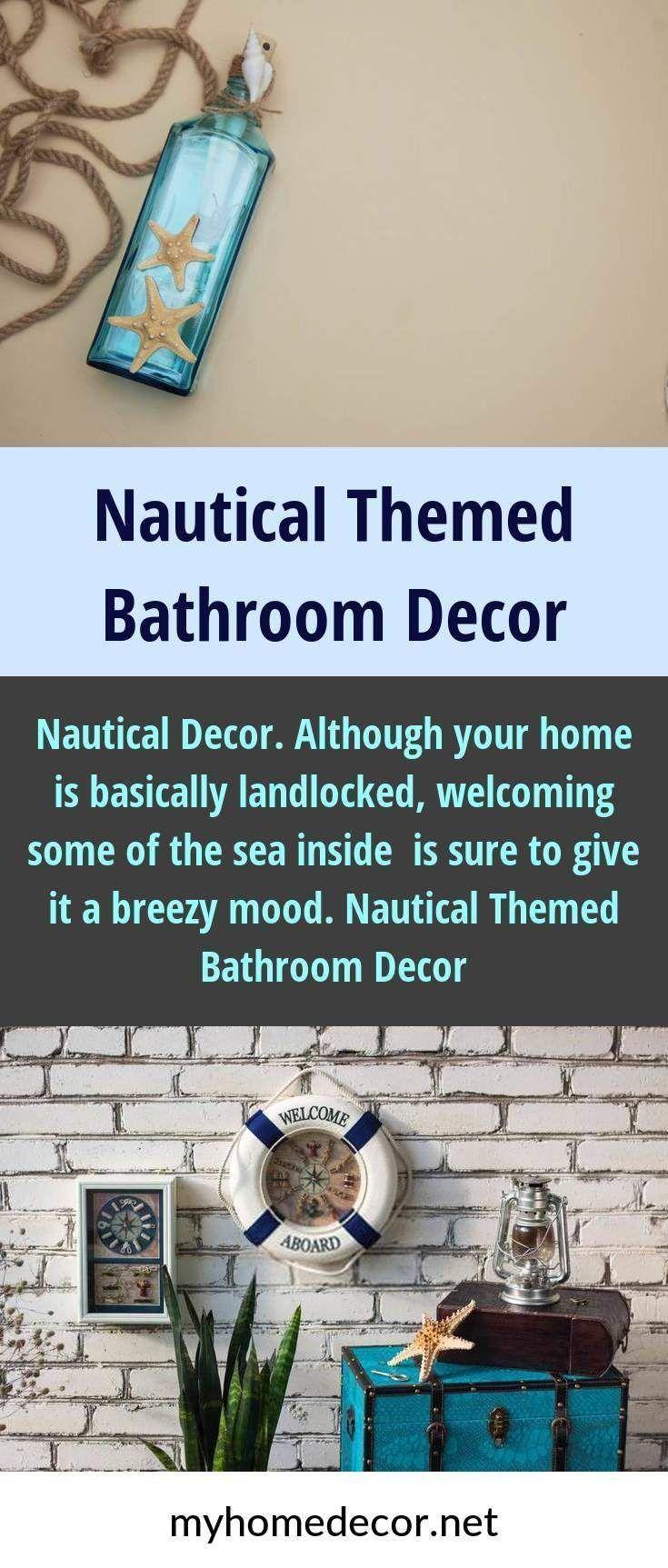 Nautical Decor Although your home is basically landlocked