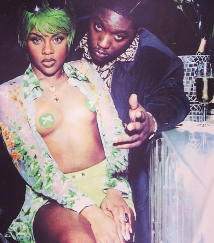 Lil Kim and Lil Cease