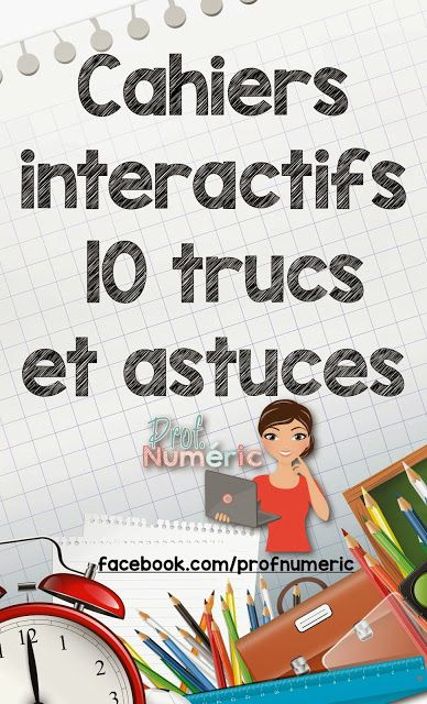 CAHIERS INTERACTIFS : 10 TRUCS et astuces //Interactive Notebook in the classromm
