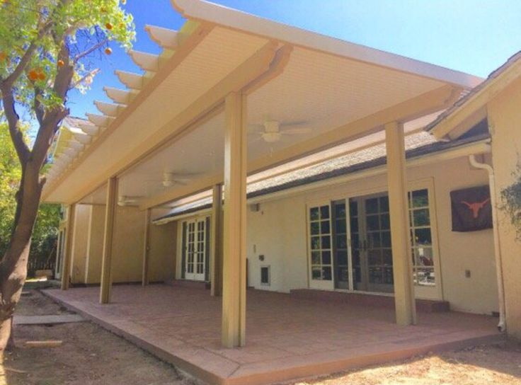 how to build alumawood patio covers