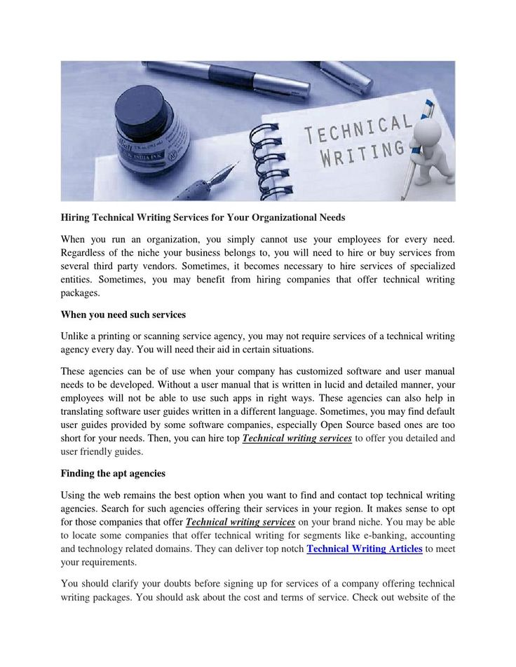 Technical Writing Services | Technical Writing Article - Varci Media Georgia