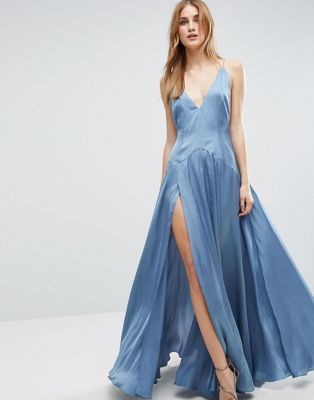 I'm gonna feel like Daenerys from Game of Thrones in this dress 😍 - ASOS Cami Panelled Thigh Split Maxi Dress