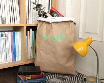 Bolsas de papel de Kraft / Color / papel saco por Twomysterybox