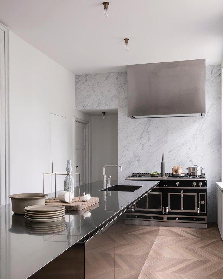 Idée décoration cuisine équipée ouverte - déco intérieur ...