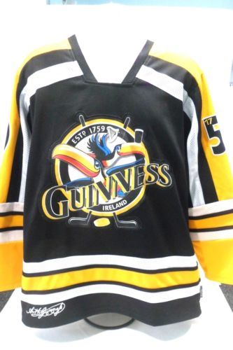 f893a9520 Official-Guinness-Toucan-Yellow-Hockey-Shirt-Jersey-with-Toucan-Size-Large-L
