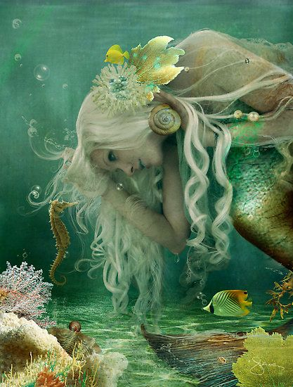 Mermaids Ocean Sea:  #Mermaid.