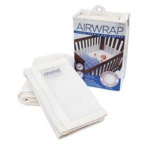 Airwrap Cot Bumper White $39.95