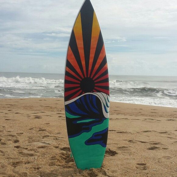 Painted Surfboard                                                                                                                                                                                 More