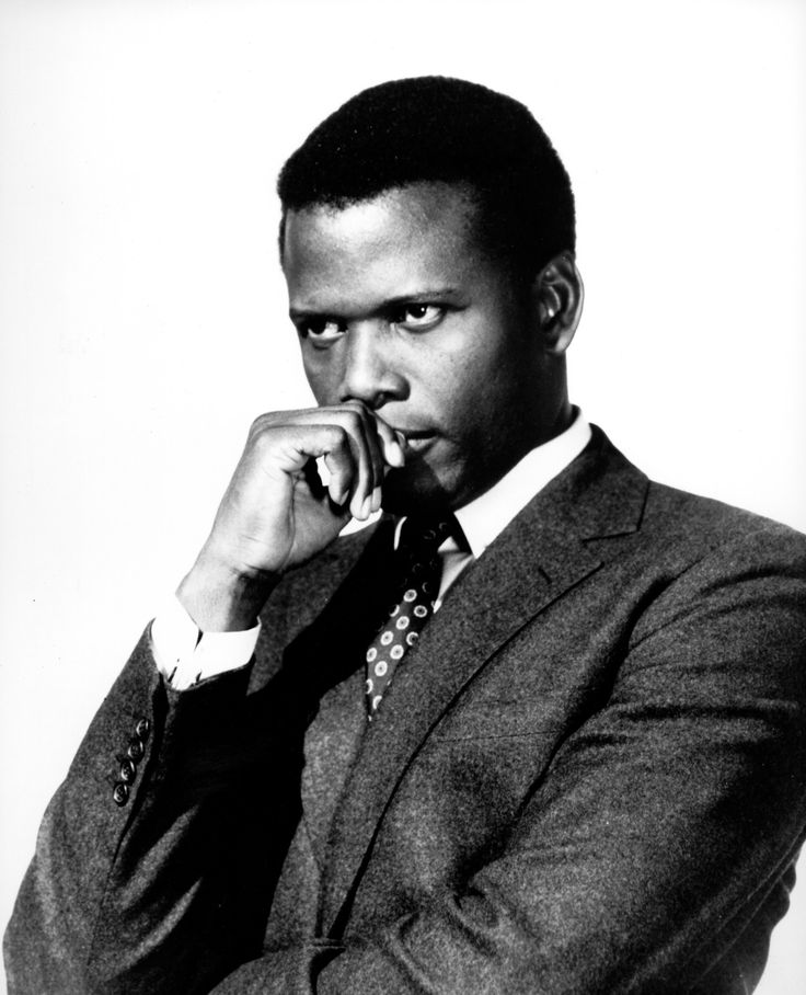 Sidney Poitier. My favourite actor of all time. My #1 favourite movie is In the Heat of the Night. I just love him