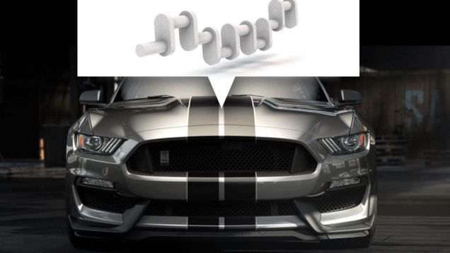 One of the things you may have noticed among all those big, exciting numbers and words we used to talk about the 2015 Shelby GT350 Mustang were these three words: flat-plane crank. Many of you may be wondering just what the hell that means, and why you should give a rat's rectum. Here's what and why. 2015 Shelby GT350 Mustang: This Is It 2015 Shelby GT350 Mustang: This Is It 2015 Shelby GT350 Mustang: This Is It Flat plane crank. 5.2 liters. At least 500 horsepower and 400 pound feet of…