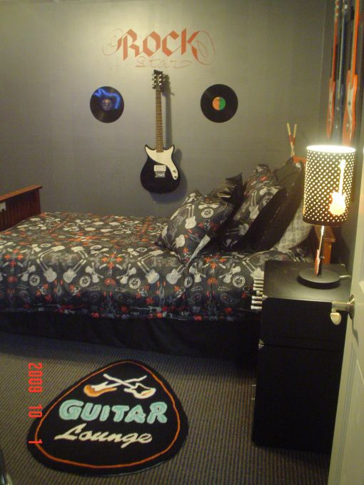 17 Best Images About Rock N Roll Room On Pinterest Twin