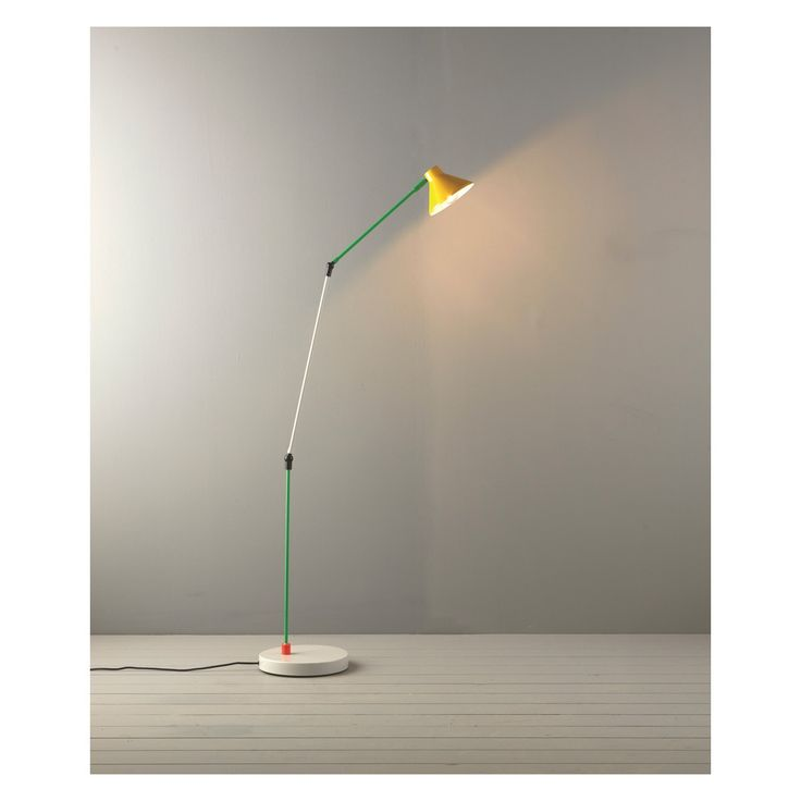 BOBBY Multi-coloured metal floor lamp | Buy now at Habitat UK
