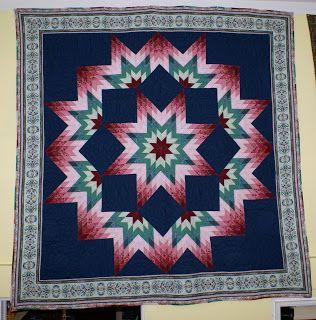 Aztec Broken Star Quilt patterns - CraftConn.com: Unique Online