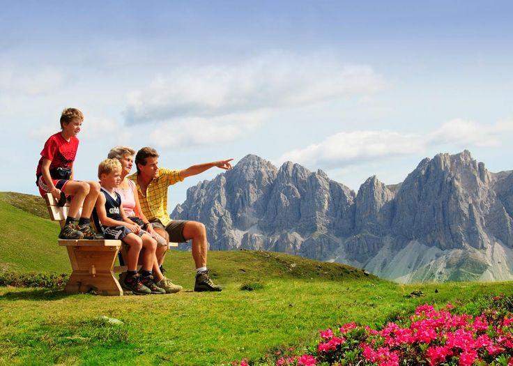 Dolomitas: um paraíso para as famílias!  #itália #família #alpes #viajar #ferias