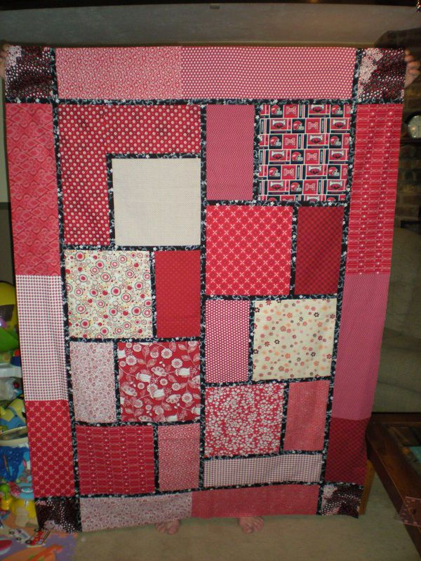 Quilt Pattern Names List : quilt pattern names quilt top pattern is big block quilt by black cat creations Quilts ...