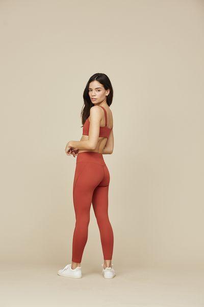 bd1d2cb9e83d Red Ochre Girlfriend Mid-Rise ¾ Legging - Girlfriend Collective