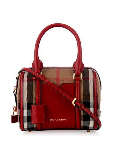 Alchester mini checked bowling bag | Burberry London | MATCHESFASHION