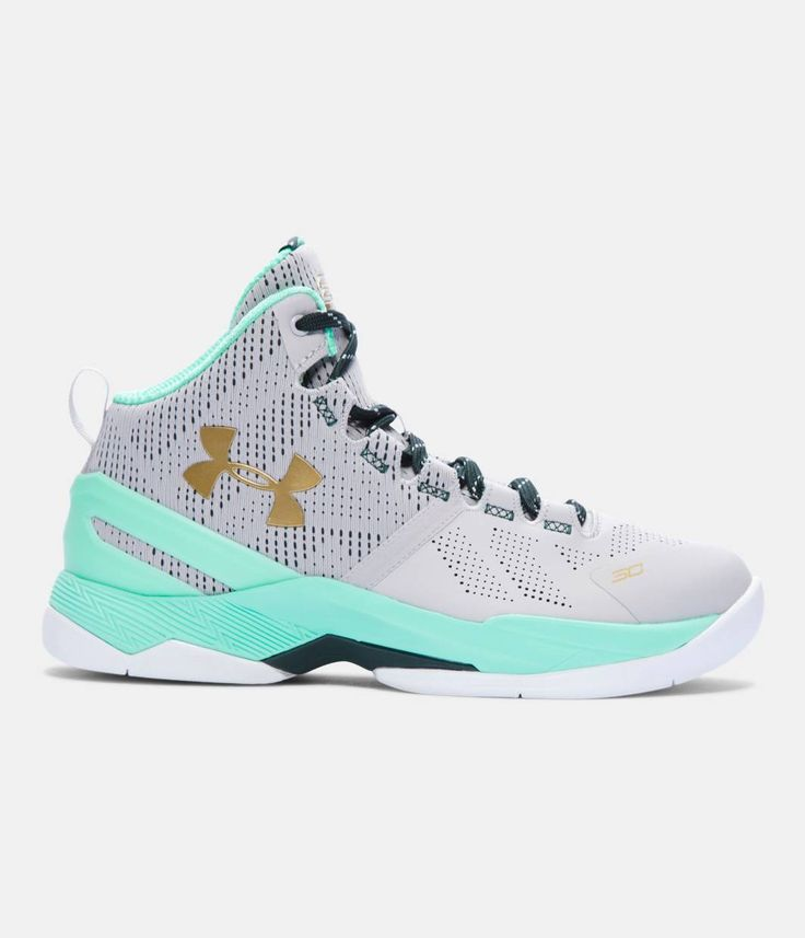 Grade School UA Curry Two Basketball Shoes, Aluminum, zoomed image