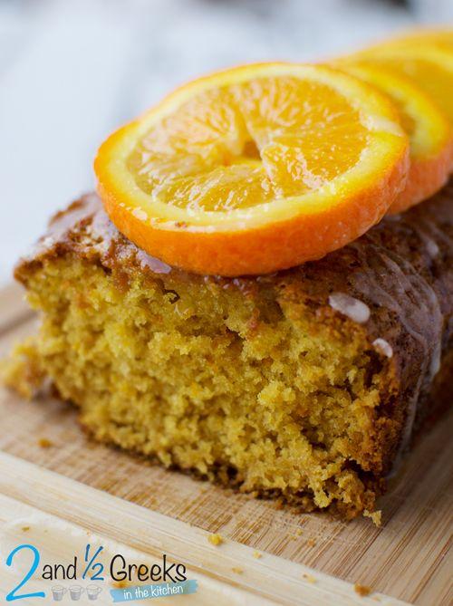 Νηστίσιμο κέικ πορτοκάλι - Two and a half Greeks
