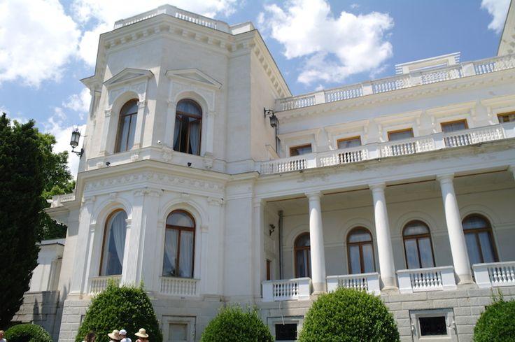 В Ливадии императорская семья провела всего лишь одно лето