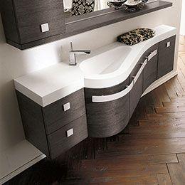 Oltre 1000 idee su bagni piccoli su pinterest idee per - Mobili per piccoli spazi ...