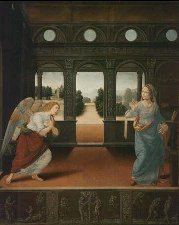 Leonardo Da Vinci Annunciation