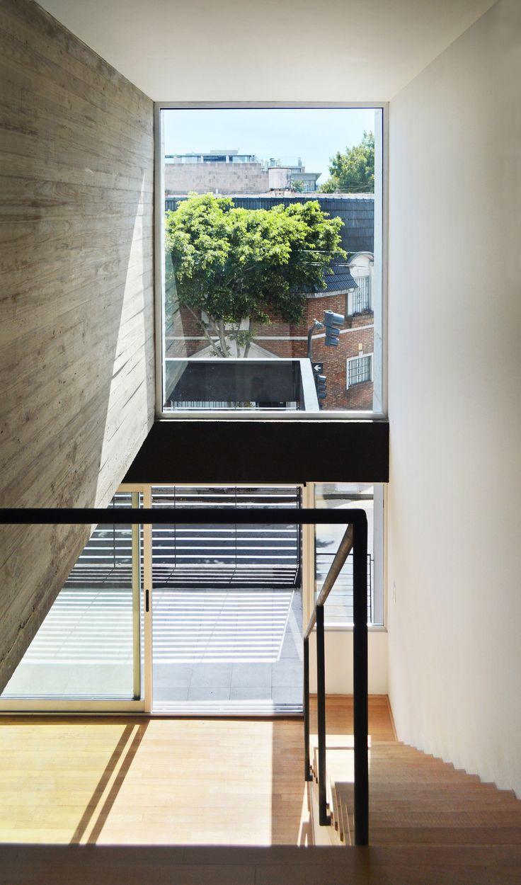 Urban Style Pampa - F2M Arquitectos - Doble altura sobre estar-comedor - Unidad de 2 ambientes.