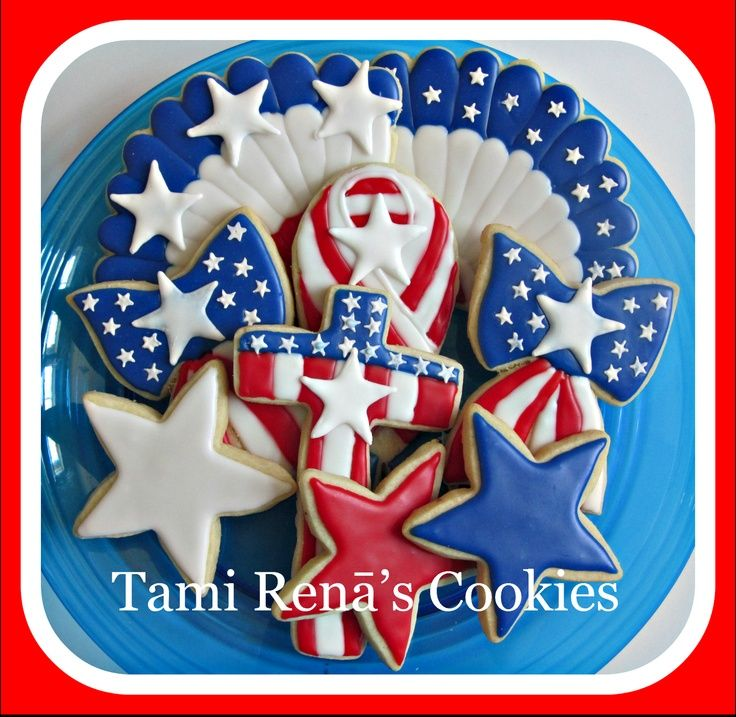 stars and strips cookies | Tami Renā's Cookies: Stars and Stripes