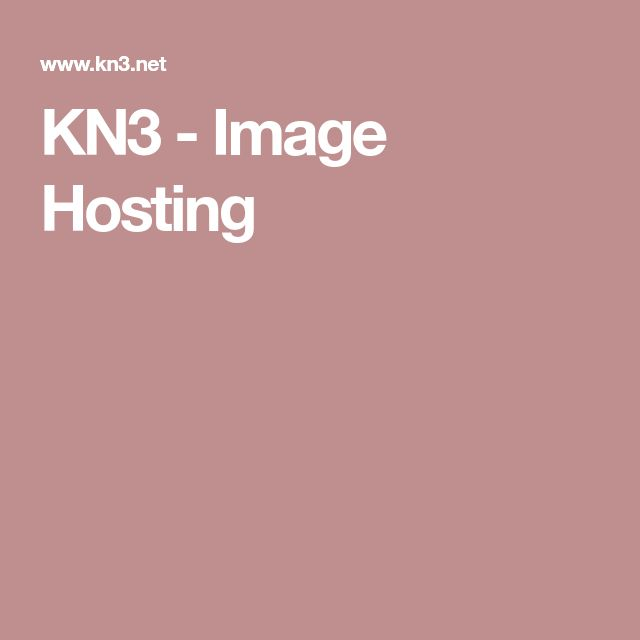 KN3 - Image Hosting