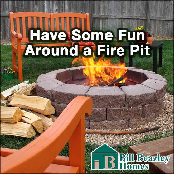 A fire pit with cozy seating area can be the perfect centerpiece of a backyard. Whether you use it to sit around and talk with friends, or have hot dog cookouts an s'mores with the fam, a fire pit can add fun and togetherness to your backyard. There are DIY kits available at your local home improvement stores or you can be creative and design your own. If you are looking for a weekend project that will be a great addition to your home, a fire pit might be just the project for you.