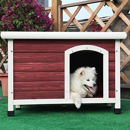 Petsfit 33.7 X 22.6 X 22.9 Inches Dog Houses, Dog House Outdoor Petsfit http://www.amazon.com/dp/B00GOJND4G/ref=cm_sw_r_pi_dp_zzU8wb1CV55GK