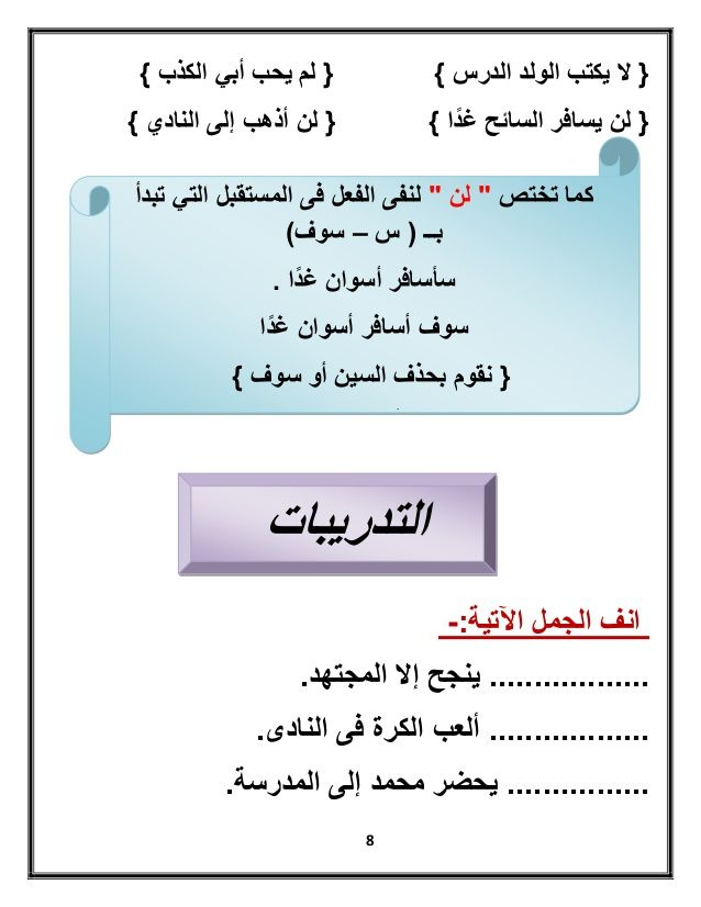 بوكلت الأساليب للصف الثانى الابتدائى للترم الثانى لمدارس نيرمين إسما Learning Arabic Learn Arabic Alphabet Arabic Lessons