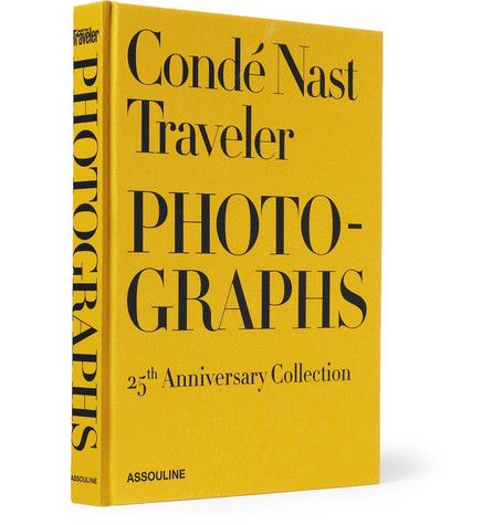 AssoulineConde Nast Traveler Photographs 25th Anniversary Collection Hardcover Book